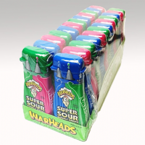 USA83 WARHEADS SUPER SOUR DOUBLE DROPS x24